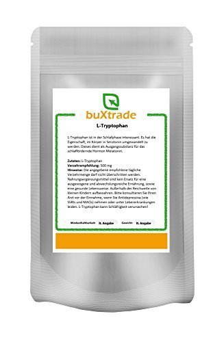 250 g Tryptophan Pulver – Tryptophane | L-Tryptophan | Fitness | Sport | Schlaf