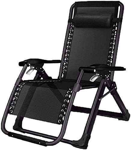 HaoLi Sillas reclinables de jardín, Tumbona Plegable, sillón reclinable portátil/Siesta de Oficina, Tumbona, sofá Perezoso de Oficina