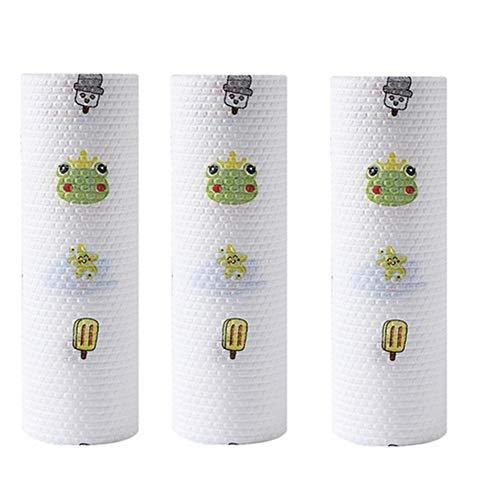 TXDIRECT Küchenpapier Rolle Küchenrolle Tissue Rolls für die Küche Seidenpapiere für die Küche Küchenpapier Küchenpapier Recycelte Küchenrolle Animal