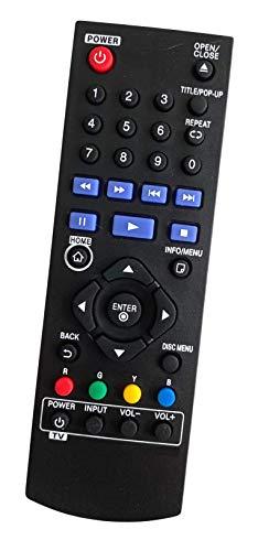 Ersatz Fernbedienung passend für LG AKB73615801 | Blu-Ray Disc DVD Player