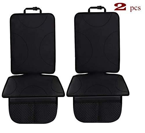 Cozywind Autositzbezug Autositzschutz 2 Stück Kindersitzpolster geeignet, Sitzbezug Autositz mit dickster Polsterung, wasserdicht mit Netztasche