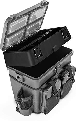 Tubayia Angeln Sitz Box Rucksack Angelger/ät Angeln Werkzeuge Box Angelkoffer Rucksack