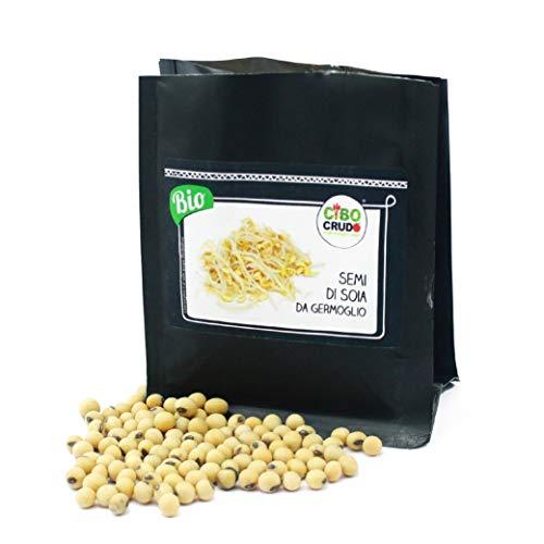 Cibocrudo Semi di Soia da Germoglio - 125 gr
