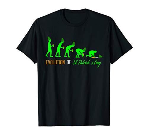 St. Patricks Day Evolution Bier Trinken Party T-Shirt