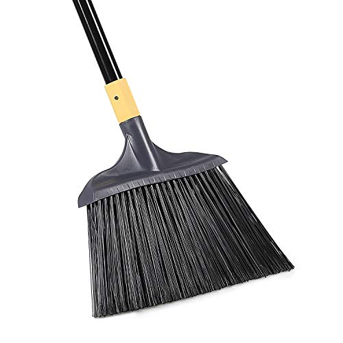 Yocada Heavy-Duty Broom Outdoor Commercial Perfect for Courtyard...