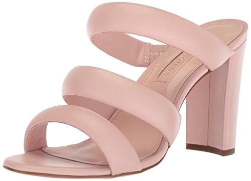 Avec Les Filles Women's Mara Heeled Sandal, avec Pink Nappa, 9 M US