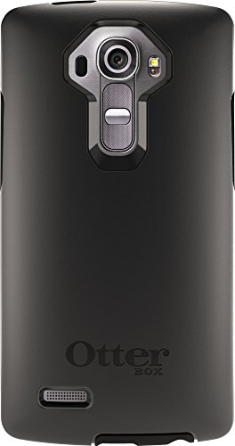 OtterBox Symmetry Case for LG G4 - Retail Packaging - Black