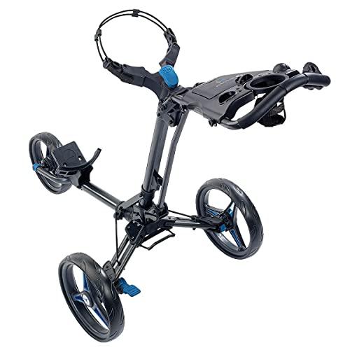 Motocaddy 2020 P1 Golftrolley, leicht, zusammenklappbar, verstellbar, blau, Einheitsgröße