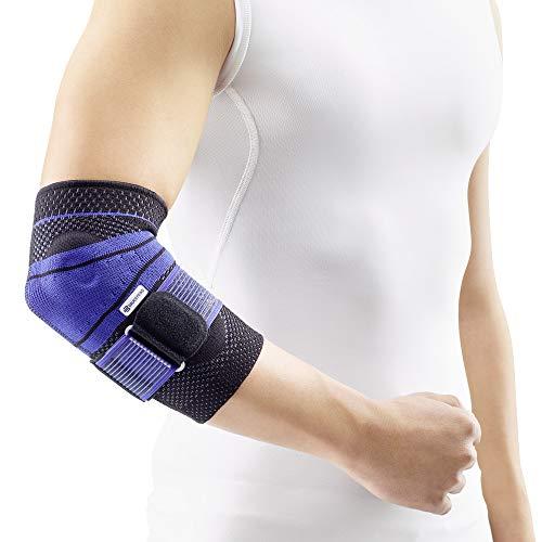 Bauerfeind Orth Unisex– Erwachsene schwarz EPITRAIN Bandage Größe 0, 0