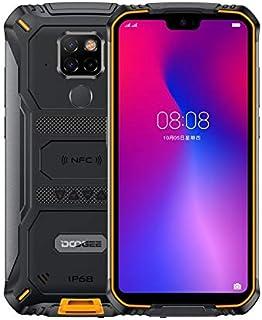 DOOGEE S68 Pro Rugged Phone, 6GB+128GB, IP68/IP69K Waterproof Dustproof Shockproof, 6300mAh Battery, Face & Fingerprint ID, 5.84 inch Android 9.0 MTK6771 Helio P70 Octa-Core, 4G, NFC(Yellow)