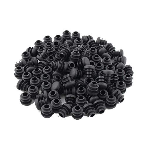 Nvfshreu 100 stuks meubelpoten cilindrisch slipvaste stoelpoten TIPP covers stekker vloer eenvoudige stijl beschermers meubels tafel bescherming bevestiging