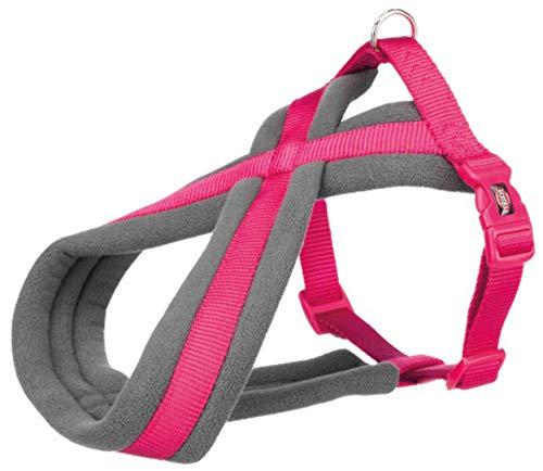 Nylon Harness Premium Foderato 70-100cm / 25mm (l-xl), Fucsia, Trixie, Nylon, Pettorine, Cani