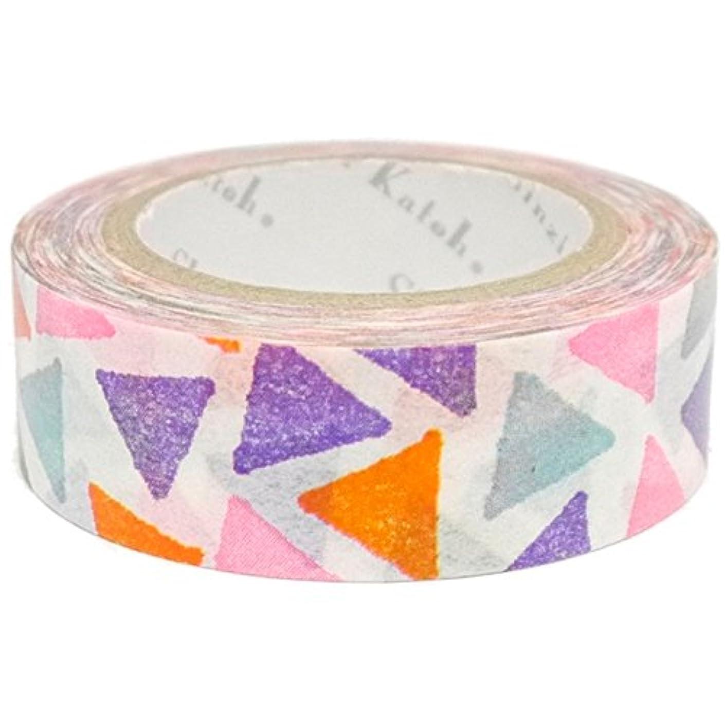 SEAL-DO Iroha-Washi Masking Tape, Triangles (ks-wt-10013)