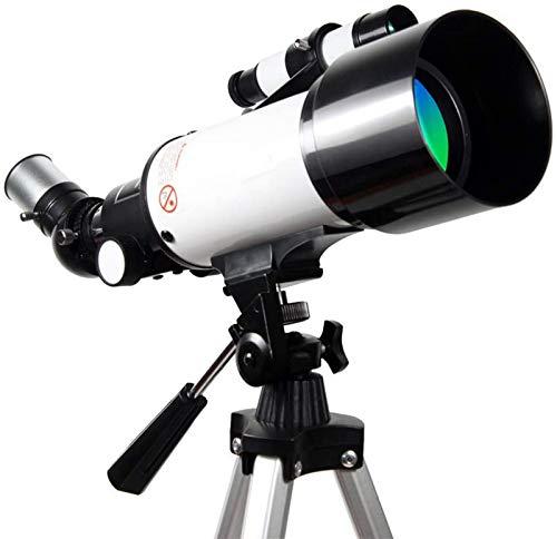 SHKUU Telescopio monocular, telescopio astronómico refractivo para niños, monocular portátil, iluminación Espacial Telescopio de Regalo para niños Observación de Estrellas en el Cielo y la Tierra