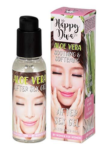 Happy Diva Aloe Vera After Sex Gel 100ml 80 g