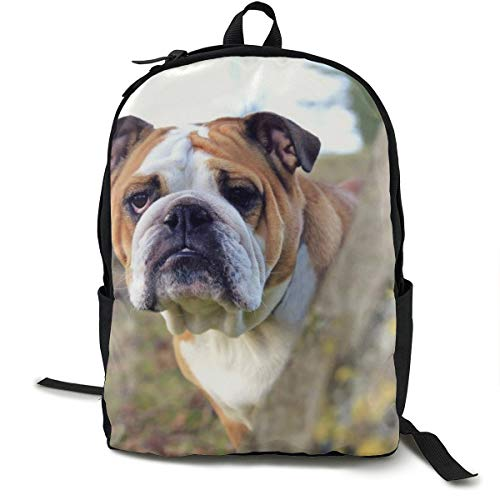 Unisex Classic Dog Tree Look Out Casual Zaino Viaggio Campeggio Outdoor Bag Zaino Laptop Zaino