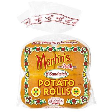 Martin's Potato Sandwich Roll - 2/8 pk. A1