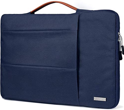 Egiant 14 inch Laptop Sleeve Case,360°Protective Handbag for HP Chromebook 14,Acer Spin 3/Aspire 1,Dell Inspiron 14/Latitude,Lenovo Flex 14,ASUS VivoBook Zenbook,Water-Resistant Notebook Bag, Blue