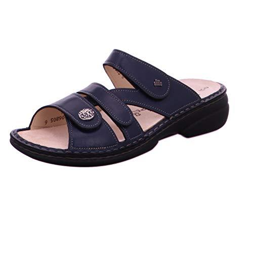 Finn Comfort FinnComfort Damen Pantoletten Ventura 82568-272042 blau 308971