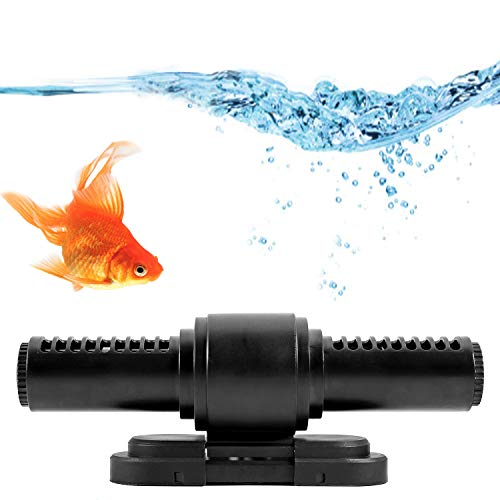 Poafamx ウェーブポンプ 10レベル速度コントロール 7種類のフローモード ウェーブ方向調節でき 水流ポンプ 水中ポンプ 水槽ポンプ アクアリウム 水槽循環ポンプ 強力 安定 波メーカー 淡水 海水 マグネット吸盤 水族館/水槽水循環用/家庭用/魚屋