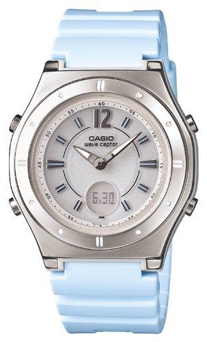 [カシオ] 腕時計 ウェーブセプター 電波ソーラー LWA-M142-2AJF ブルー