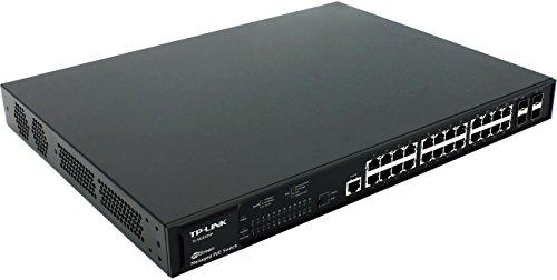 TP-Link T2600G-28MPS (TL-SG3424P) JetStream 24-Port Gigabit L2 Managed PoE+ Switch