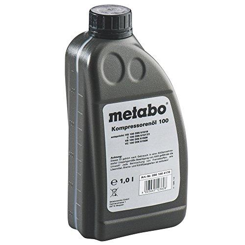 Metabo Kompressorenöl (für Kolbenverdichter, mineralisch; Inhalt: 1 Liter) 0901004170