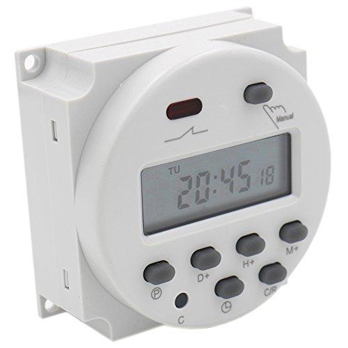 heschen CN101A Digital LCD Power Wochenprogrammierbares Schaltuhr Relais AC 200-230 V 16 Amp SPST