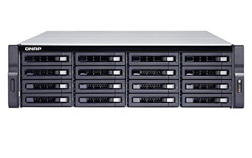 QNAP TDS-16489U R2 ingebouwde Ethernet-aansluiting zwart, grijs NAS