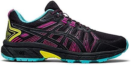 ASICS Women's Gel-Venture 7 Running Shoes, 7.5, Graphite Grey/Sour Yuzu
