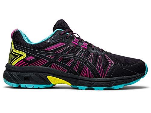ASICS Women's Gel-Venture 7 Running Shoes, 8.5M, Graphite Grey/Sour Yuzu