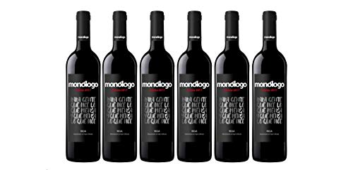 Monólogo Tinto Crianza Rioja - 6 Botellas de 750 ml - Total: 4500 ml