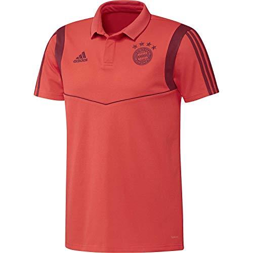 adidas FCB CO Poloshirt für Herren M Rojbri/Maract