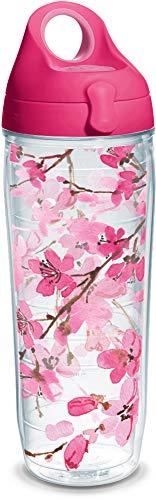 Tervis Cerisier du Japon Wrap avec couvercle 680,4 gram Bouteille d'eau