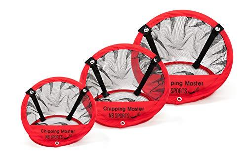 NB SPORTS Golf Chipping Netz, 3er Set für Dein Golf Training inkl. Tasche, flexibel einsetzbar