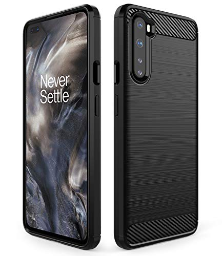 Dzxouui Compatible for Oneplus Nord 5G Case,Oneplus 8 Nord 5G Case,Oneplus Nord Z Case,Protective Cover Shockproof Soft TPU Phone Cases for Oneplus Nord 5G(DL-Black)