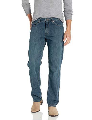 Lee Herren Jeans Regular Fit Straight Leg - Blau - 34W / 29L