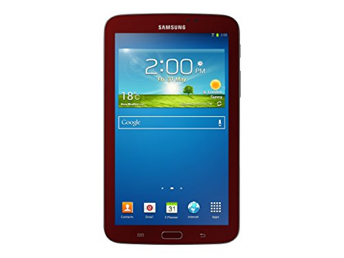 Samsung Galaxy Tab 3 Sm-t210r 8 Gb Tablet - 7 - Plane To Line [pls] Switching - Wireless Lan - Marvell Armada Pxa986 1.20 Ghz - Garnet Red - 1 Gb Ram - Android 4.1.2 Jelly Bean -