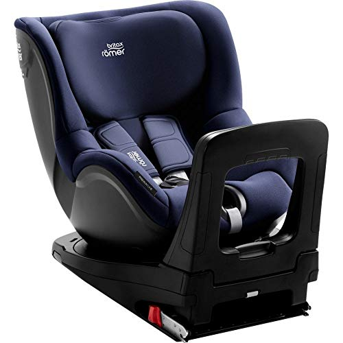 Britax Römer Dualfix i-Size - Silla de Coche para Bebés hasta 4 años, Azul (Moonlight Blue)