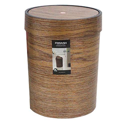 DHF Küchenabfalleimer aus Kunststoff, für Wohnzimmer, Küche, Papierkorb, Aufbewahrungseimer (Größe: 8 l)