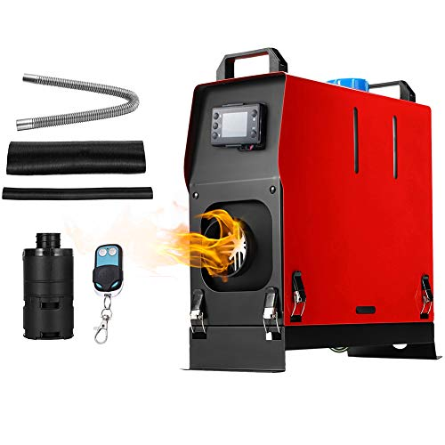 Minocool Diesel Heater 5KW Diesel Air Heater 12V All in One Integration Diesel Parking Heater with LCD Screen & Remote Control, Diesel Heater for RV Trucks Boat Bus Car Trailer, Motor-home