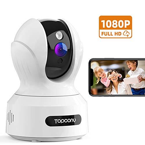 professionnel comparateur Caméra de surveillance Wi-Fi Top Balcony, caméra IP intérieure sans fil 1080P, caméra de surveillance FHD… choix