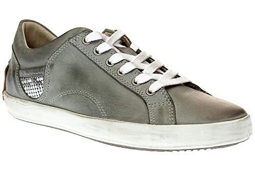 Maca Kitzbühel 2003 - Damen Schuhe Sneaker Schnürer - Light-Grey, Größe:38 EU