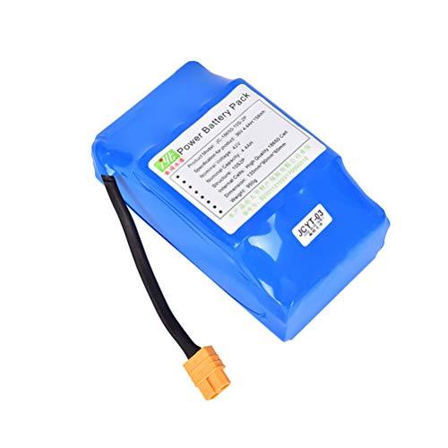 YiiYYaa - Batería de Ion de Litio para Patinete de Equilibrio (36 V, 4,4 Ah, 10S2P, INR18650P)