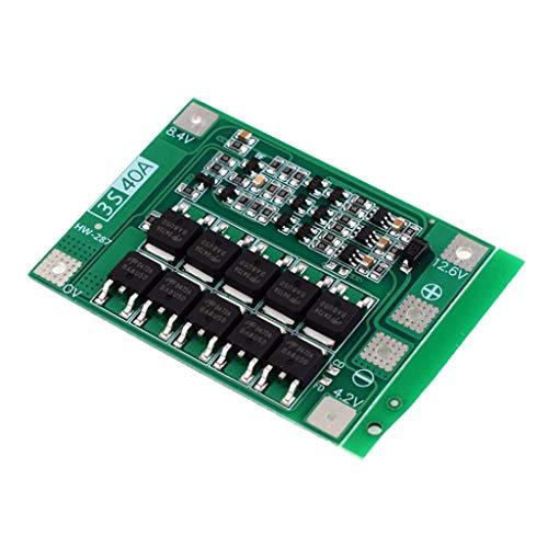Generic 3S 24V 48V 40A BMS Leiterplatte PCM Li Ionen Batterieschutzplatinenmodul Au - Enhanced Edition