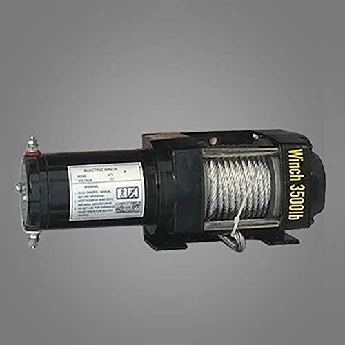 ANJING 12V/24V 3500lb De múltiples Fines Portátil Cabrestante eléctrico,Polipasto eléctrico,24V