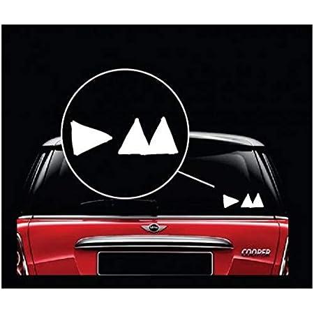 Depeche Mode Musik Hochwertigen Auto Autoaufkleber 8 X 12 Cm Küche Haushalt