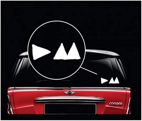 Depeche Mode Car Vinyl Decal Laptop Car Truck Bumper Window Sticker
