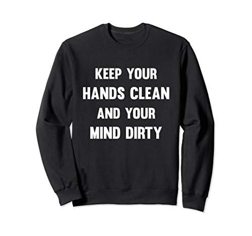 Hände Waschen Lustiger Spruch   Gegen Viren & Bakterien Sweatshirt