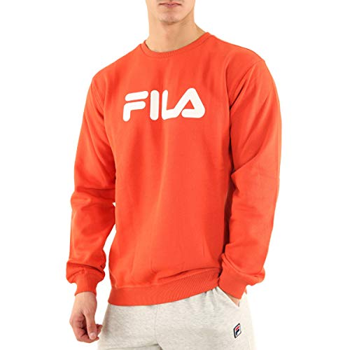 Fila - Sweat col Rond Classic Pure Crew Couleur - Orange, Taille - S